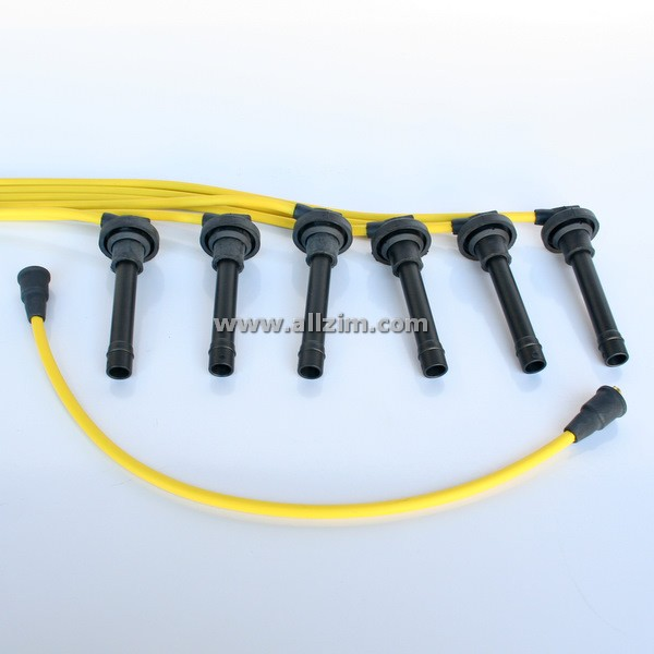 Yellow 8MM High Performance Spark Plug Wire Set, 911 -83/914-6/930 on