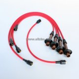 Red 8MM High Performance Spark Spark Plug Wire Set, 356/912