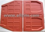 Floor Pan Set, Premium Quality, 356A