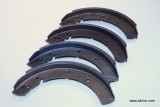 Brake Shoe Set, Oversize, 356 w/drum Brakes