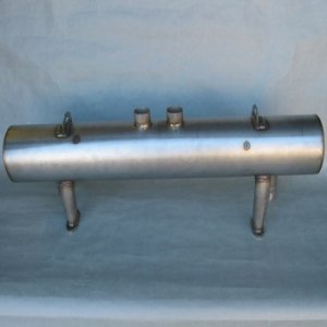 M&K Stainless Steel Muffler for 356/912