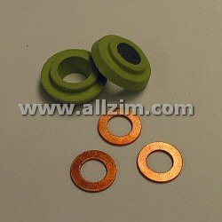 Oil Cooler Seal, Stepped Version, 356/A/B