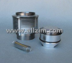 Piston and Cylinder Set, 356/912 86mm