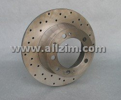 Brake Rotor, Rear, Zimmermann Sport Disc, 944T/S2/911C2/4/968