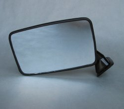 Door Mirror, Black, Left, 911 74-77
