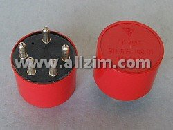 Round Red Fuel Pump Relay