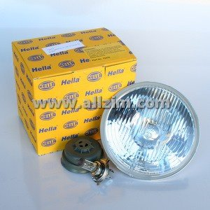 Hella Vision H4 Sealed Beam Replacement, 7 Inch Round