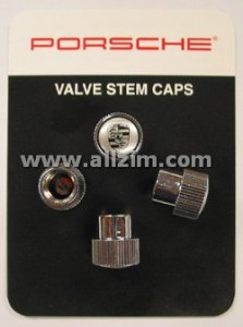 Genuine Porsche Valve Stem Caps