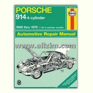 914 (4 cyl) Repair Manual by Haynes