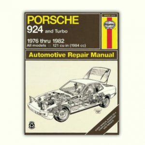 924 Repair Manual by Haynes