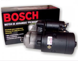 Bosch Remanufactured Starter, 911 72-89