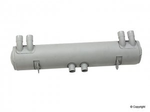 Muffler, 356/912 w/European heaters