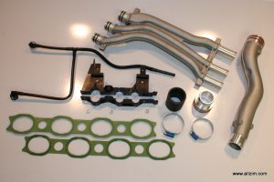 Cayenne Coolant Pipe Update Kit
