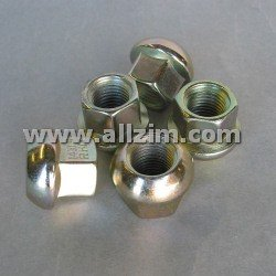 Lug Nut, Cad Plated Steel