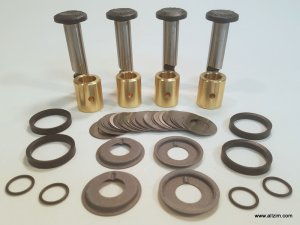 Link Pin Kit, German, with Brass Bushings
