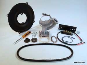 356 Alternator Conversion Kit