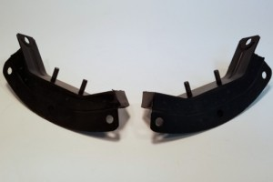 Transmission Hoop Mounts, Premium, Pair, 356