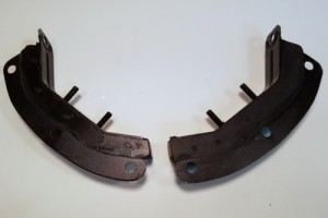 Transmission Hoop Mounts, German, Pair, 356