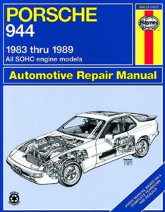 944 Repair Manual by Haynes