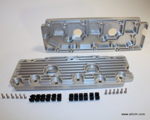 Lower Valve Cover, Pair, Billet, 964