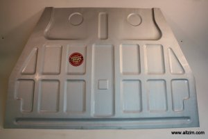 Floor Pan Set, Premium Quality, 356 Pre-A 50-5/52