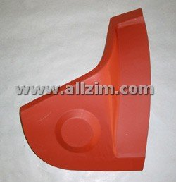 Longitudinal Closing Panel, Right Rear, Premium Quality, 356B/C 60-65
